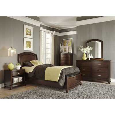 Loveryk Storage Platform Customizable Bedroom Set
