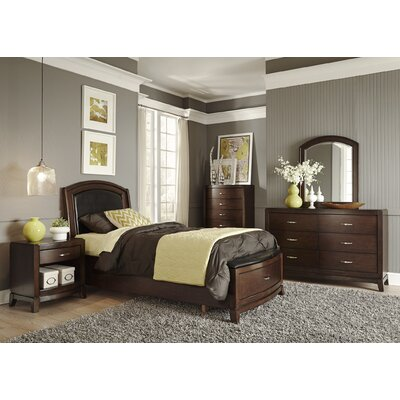 Loveryk Storage Platform Customizable Bedroom Set