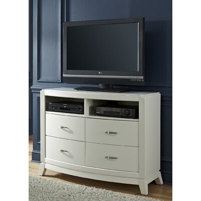 Loveryk II 4 Drawer Media Chest