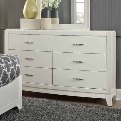 Loveryk 6 Drawer Dresser