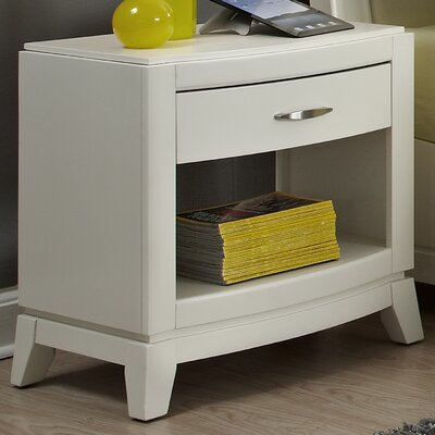 Loveryk 1 Drawer Nightstand