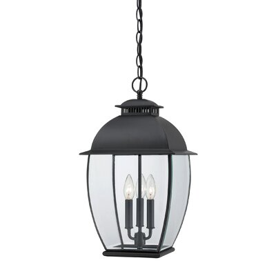 Wilsonville 3-Light Outdoor Hanging Lantern
