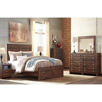 Allport Storage Panel Customizable Bedroom Set