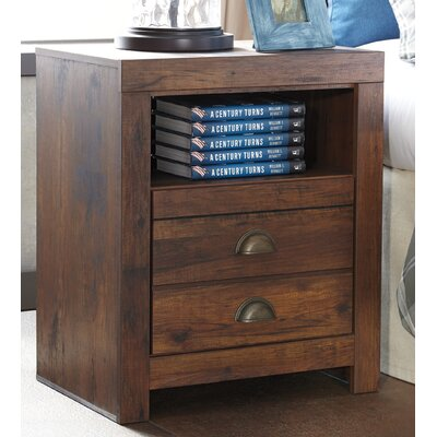Allport 2 Drawer Nightstand