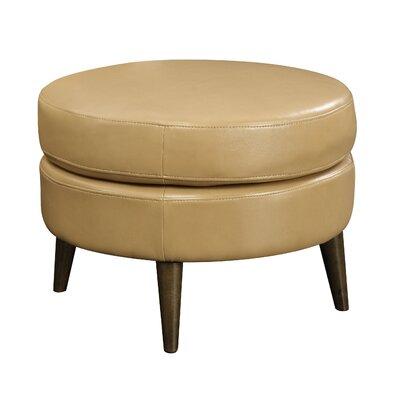 Chowdhury Round Ottoman Upholstery: Saddle