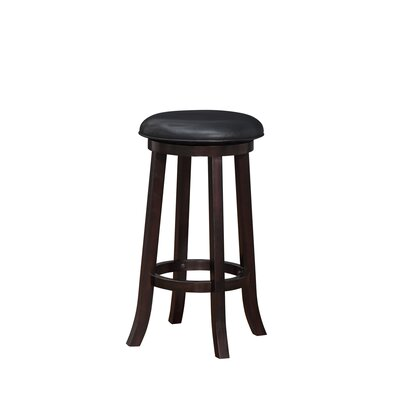 Elsa 29 Swivel Bar Stool Finish: Merlot
