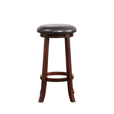 Elsa 29 Swivel Bar Stool Finish: Hazelnut