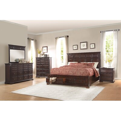 Plumcreek 20 Drawer Dresser with Mirror