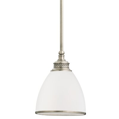 Westerville 1-Light Mini Pendant Finish: Antique Brushed Nickel