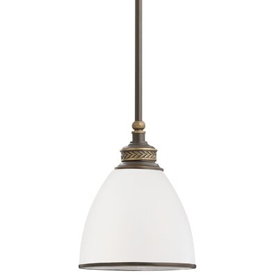 Westerville 1-Light Mini Pendant Finish: Estate Bronze