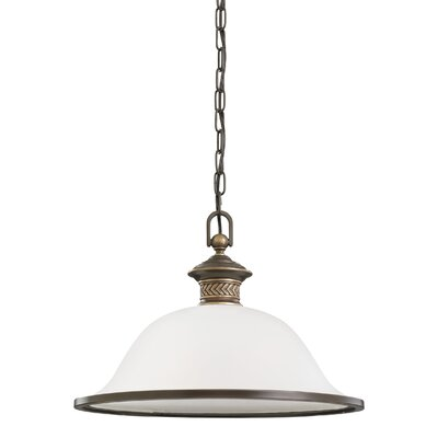Westerville 1-Light Inverted Pendant Finish: Estate Bronze