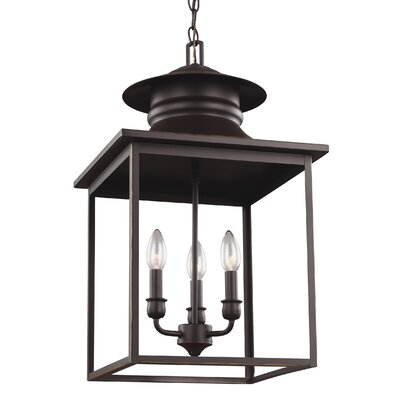 Westlake 3-Light Foyer Pendant Finish: Heirloom Bronze