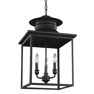 Westlake 3-Light Foyer Pendant Finish: Blacksmith