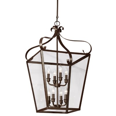 Weston 8-Light Foyer Pendant Finish: Heirloom Bronze