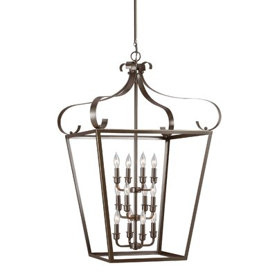 Weston 12-Light Foyer Pendant Finish: Heirloom Bronze