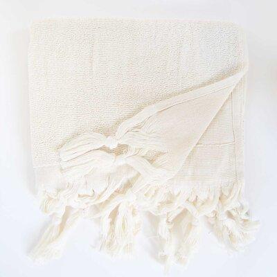 Hudgens Hand Towel (Set of 2) Color: Off White