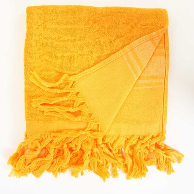 Hudgens Hand Towel (Set of 2) Color: Orange