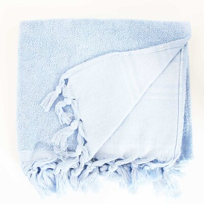 Hudgens Hand Towel (Set of 2) Color: Serenity Blue