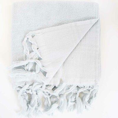Hudgens Hand Towel (Set of 2) Color: Pearl Grey