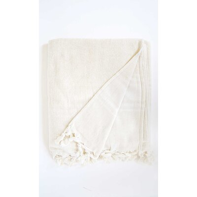 Hudgens Bath Sheet Color: Off White