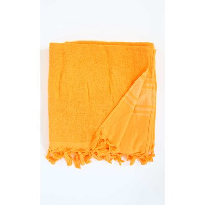 Hudgens Bath Sheet Color: Orange