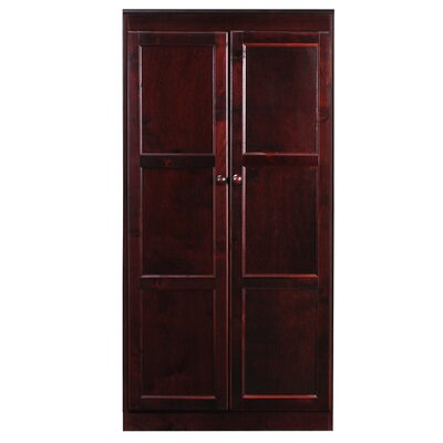 Fellers 2 Door Storage Cabinet Finish: Cherry