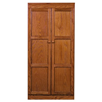Fellers 2 Door Storage Cabinet Finish: Dry Oak