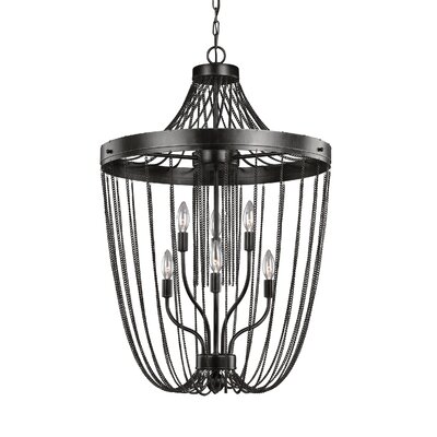 Rebekah 6-Light Semi Flush Mount