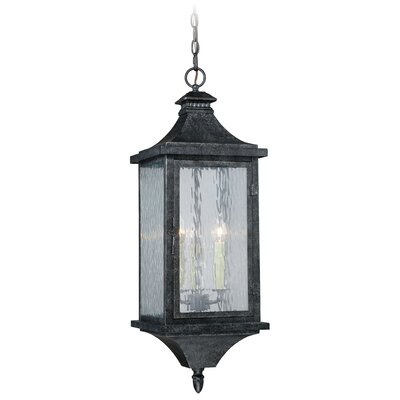 Wilhelmina 3-Light Foyer Pendant