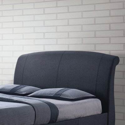 Wilkesville Upholstered Sleigh Headboard