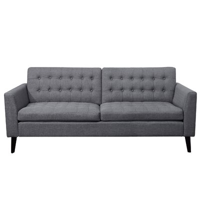Starner Tufted Sofa Upholstery: Gray