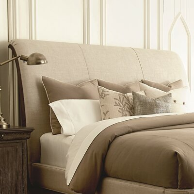 Pond Brook Upholstered Sleigh Headboard Size: California King