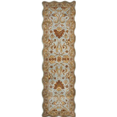 Cranmore Blue/Beige Area Rug Rug Size: Rectangle 96 x 136