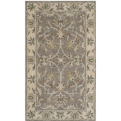 Meriden Hand Tufted Wool Gray/Beige Area Rug