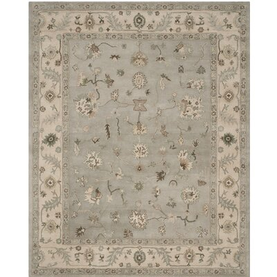 Meriden Hand Tufted Wool Beige/Gray Area Rug