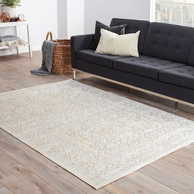 Styers Ivory Area Rug Rug Size: Rectangle 96 x 136