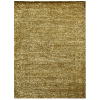 Gould Green Solid Rug Rug Size: 36 x 56