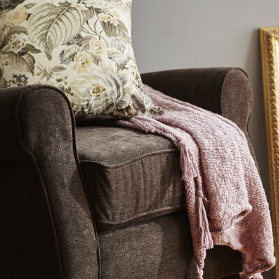 Grassmere Cotton Throw Color: Pink