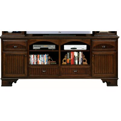 Greylock 80 TV Stand Color: Concord Cherry