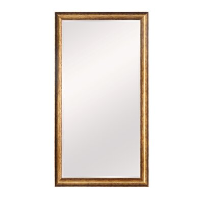 Rectangle Gold Wall Mirror
