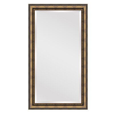 Rectangle Gold Brown Wall Mirror