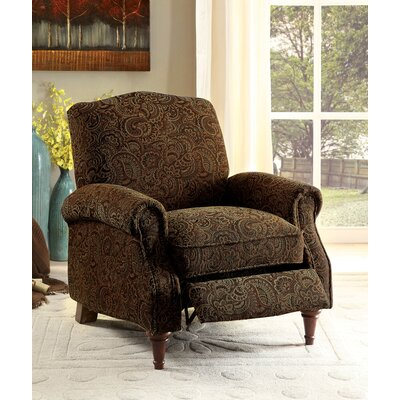 Sebring Traditional Recliner Finish: Brown