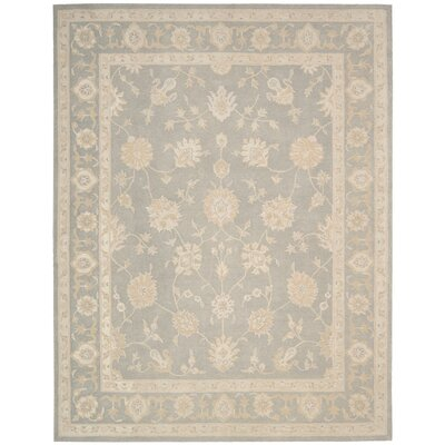 Ridgeville Hand-Tufted Light Taupe Area Rug Rug Size: 76 x 96