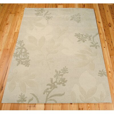 Harper Hand-Tufted Gray Area Rug Rug Size: 76 x 96