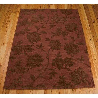 Harper Hand-Tufted Rust/Brown Area Rug