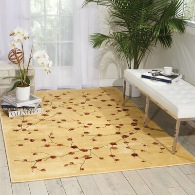 Bellock Hand-Tufted Ivory Area Rug
