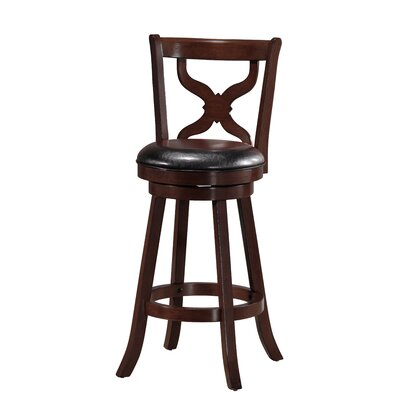 Richerson 29 Swivel Bar Stool Finish: Espresso