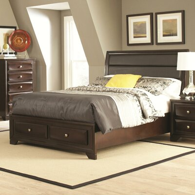 Wasserhund Uphostered Panel Bed Size: California King