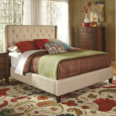Clevenger King Upholstered Panel Bed