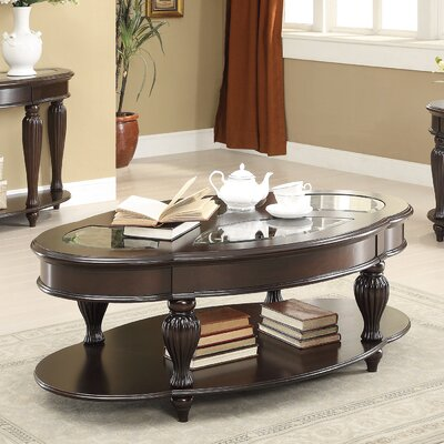 Edenfield Coffee Table with Magazine Rack
